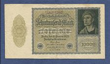 Buy GERMANY 10,000 MarK 1922 VAMPIRE NOTE 17 B 0418530 - A Historic & truly Unique Note !