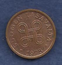 Buy FINLAND 5 Pennia 1975 Coin - Copper, KM-45
