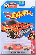 Buy Hot Wheels - '69 Dodge Coronet Superbee: '16 HW Flames #4/10 - #94/250 *Orange*
