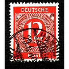 Buy German Used Scott #538 Catalog Value $.25