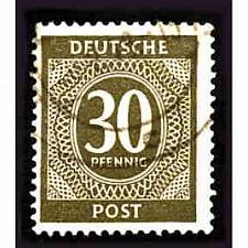 Buy German Used Scott #547 Catalog Value $.25