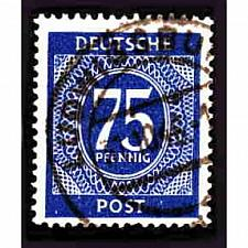 Buy German Used Scott #553 Catalog Value $.25