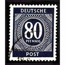 Buy German Used Scott #554 Catalog Value $.25