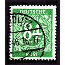 Buy German Used Scott #555 Catalog Value $.25