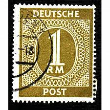 Buy German Used Scott #556 Catalog Value $.25