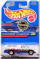Buy Hot Wheels - Dodge Ram 1500: '99 Trailer Edition - Collector #1059 *Full Grid*