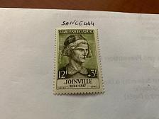 Buy France Famous J. de Joinville chronicler 1957 mnh