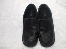 Buy George Comfort Black Dress Shoes Size 3 Boys Heel To Toe 9.5 Inches