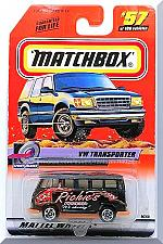 Buy Matchbox - VW Transporter: Speedy Delivery Series #57/100 (2000) *Black Edition*