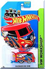 Buy Hot Wheels - Volkswagen Kool Kombi: HW Garage #201/250 (2014) *Red Edition*