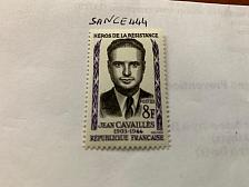 Buy France Heroes of the Resistance J. Cavailles 1958 mnh