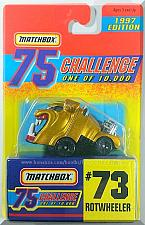 Buy Matchbox - Rotwheeler: 75 Challenge Series #73 (1997) *Gold Edition / Limited*