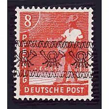 Buy German Hinged Scott #602 Catalog Value $.25