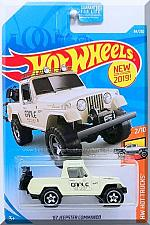 Buy Hot Wheels - '67 Jeepster Commando: HW Hot Trucks #2/10 - #84/250 (2019) *White*