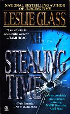 Buy Stealing Time by Leslie Glass 2000 Paperback Book - Very Good