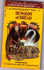 Buy Dungeon of Dread by Rose Estes 1982 (endless quest#1) Paperback - Good