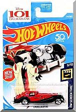 Buy Hot Wheels - Cruella De Vil: HW Screen Time #9/10 - #343/365 (2018) *Red*