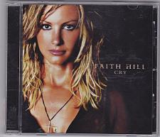 Buy Cry by Faith Hill CD 2002 - Very Good