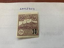 Buy San Marino Monte Titano surch. purple mnh 1941