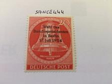 Buy Berlin Bell of Liberty overp. mnh 1954