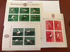 Buy San Marino Olympics sheets mnh 1960