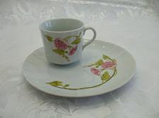 Buy Vintage Toscany Collection Morning Glory 2 Pc Tea Cup And Snack Plate