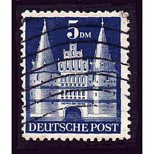 Buy German Used Scott #661a Catalog Value $3.25
