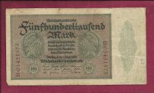 Buy GERMANY 500000 Mark 1923 Banknote B05451575 - Weimar Inflation Note P-88a