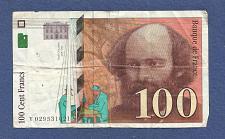 Buy FRANCE 100 Francs 1997 Banknote V029531021 - Paul Cézanne - Banque de France !