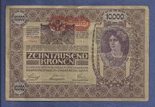 Buy AUSTRIA HUNGARY EMPIRE 10000 (II Edition) Kronen 1902 Banknote 14683 Series 1714