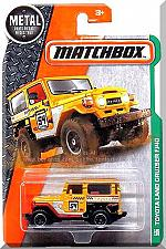 Buy Matchbox - Toyota Land Cruiser FJ40: '17 MBX Explorers #120/125 *Yellow Edition*