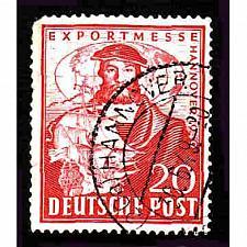 Buy German Used Scott #663 Catalog Value $2.25