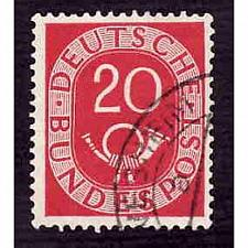 Buy German Used Scott #677 Catalog Value $.30