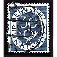 Buy German Used Scott #679 Catalog Value $.55