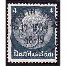Buy German Used Scott #417 Catalog Value $.40