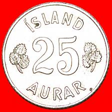 Buy + GREAT BRITAIN BIRCH (1946-1967): ICELAND ★ 25 ORE 1962! LOW START ★ NO RESERV