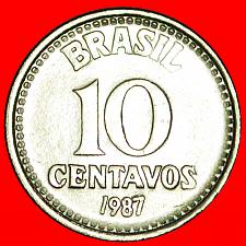 Buy + SOUTHERN CROSS (1986-1988): BRAZIL★10 CENTAVOS 1987! LOW START ★ NO RESERVE!