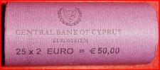 Buy # GREECE: CYPRUS ★ ROLL 2 EURO 2018 = 25 COINS! LOW START ★ NO RESERVE!