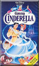 Buy VHS - Cinderella (1950) *Walt Disney / Chinese Subtitled / English Language*