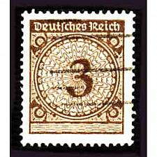 Buy German Used Scott #323 Catalog Value $.25