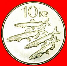 Buy + CAPELIN FISHES (1996-2008): ICELAND ★ 10 CROWNS 1996!LOW START ★ NO RESERVE!