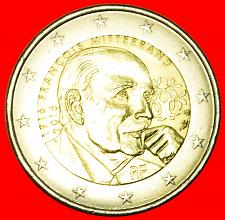 Buy + MITTERRAND (1916-1996): FRANCE★ 2 EURO 2016 UNC MINT LUSTER! LOW START ★ NO RES