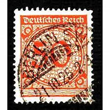 Buy German Used Scott #327 Catalog Value $1.00