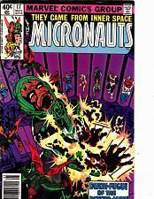 Buy Micronauts - May #17 - Marvel 1980 Comic Book - Good