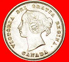 Buy + SILVER (1858-1901): CANADA ★ 5 CENTS 1891! LOW START★NO RESERVE! Victoria 1837-