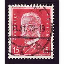 Buy German Used Scott #374 Catalog Value $.65