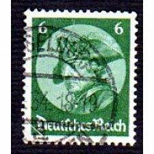 Buy German Used Scott #398 Catalog Value $.95