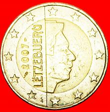 Buy + FRANCE NON-PHALLIC TYPE (2007-2019): LUXEMBOURG ★ 2 EURO 2007! LOW START ★