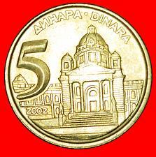 Buy + LAST TYPE (2000-2002): YUGOSLAVIA ★ 5 DINARS 2002 MINT LUSTER! LOW START