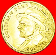 Buy + PRUS (1847-1912): POLAND ★ 2 ZLOTY 2012 NORDIC GOLD LOW START★NO RESERVE!